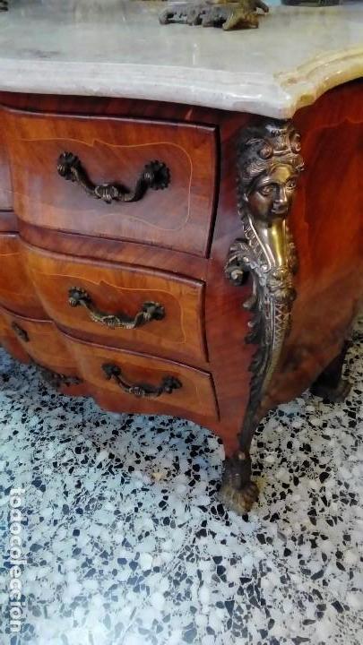 Antigüedades: comoda francesa LUIS XV- - Foto 2 - 110317335