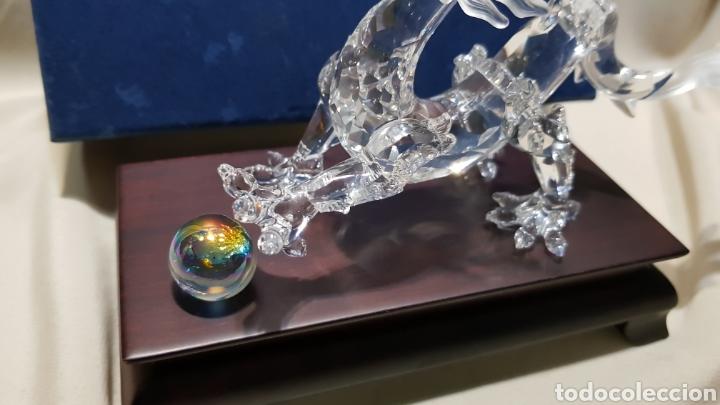 Antigüedades: Dragon swarovski . Edicion criaturas fantásticas . Con su base y su caja . - Foto 7 - 110419442
