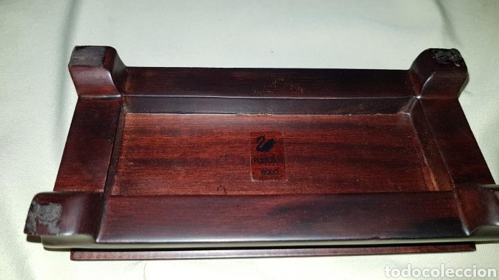 Antigüedades: Dragon swarovski . Edicion criaturas fantásticas . Con su base y su caja . - Foto 9 - 110419442