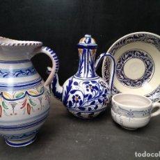 Antigüedades: LIQUIDACION LOZA DECORADA POPULAR, VARIOS. Lote 110447119