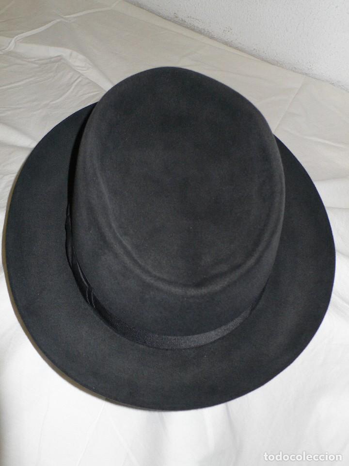 ANTIGUO SOMBRERO CABALLERO (Antigüedades - Moda - Sombreros Antiguos)