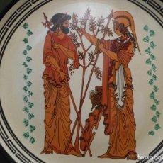 Antigüedades: PLATO TERRACOTA DE GRECIA . Lote 110492235