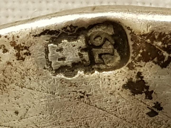Antigüedades: Bandeja de plata. Punzonado Madrid-1779 - Foto 7 - 110499039
