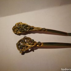 Antigüedades: ORQUILLAS DE ESTILO MODERNISTA.. Lote 110513718