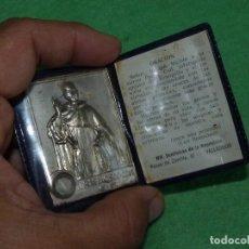 Antigüedades: RARA RELIQUIA EX INDUMENTIS PADRE FRANCISCO COLL CARTERA ESCAPULARIO RELICARIO COLECCION. Lote 110519431
