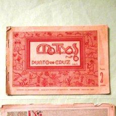 Antigüedades: CUADERNOS DE MODELOS DE PUNTO DE CRUZ, Nº 6 Y 11, DEPOSITOS NIEVES LLORENS VALENCIA. Lote 110520843
