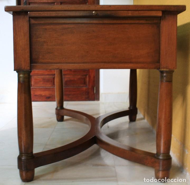 Antigüedades: MESA DE DESPACHO IMPERIO. REF:6182 - Foto 8 - 110550743