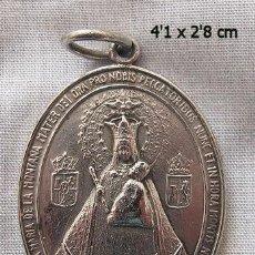 Antigüedades: MEDALLA ANTIGUA VIRGEN DE LA MONTAÑA CACERES 1924 CORONACION. Lote 137825222