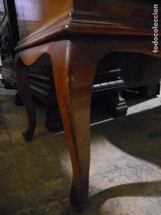 Antigüedades: mueble vitrina escritorio libreria estilo ingles recogida provincia barcelona - Foto 10 - 203410105