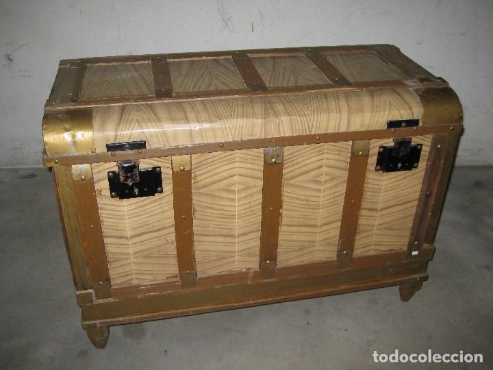 Ba l antiguo para restaurar comprar ba les antiguos en - Restaurar baules antiguos ...