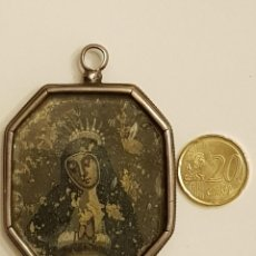 Antigüedades: RELICARIO DE PLATA SIGLO XVII.SANTA POLONIA.SAN BERNARDO.SANTA ROSA.S.DOMINGO. LIGNUM CRUCIS. Lote 110593759