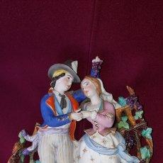 Antigüedades: FIGURAS DE BISCUIT. Lote 110621043