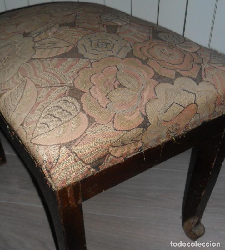 SILLA BUTACA ART DECO (Antigüedades - Muebles Antiguos - Sillas Antiguas)