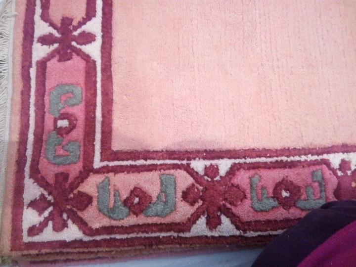 Antigüedades: Alfombra hecha a mano lana de oveja 100% - Foto 13 - 75702643
