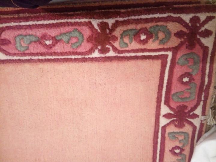 Antigüedades: Alfombra hecha a mano lana de oveja 100% - Foto 14 - 75702643