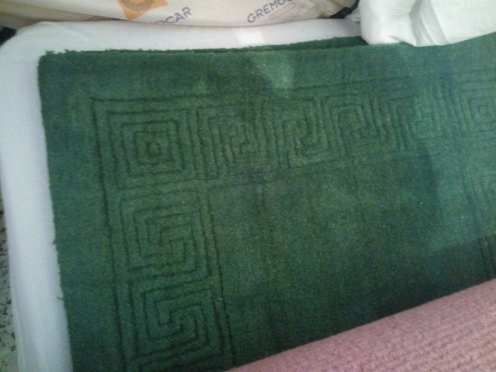 Antigüedades: Alfombra hecha a mano lana de oveja 100% - Foto 15 - 75702643