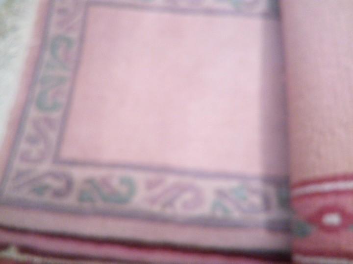 Antigüedades: Alfombra hecha a mano lana de oveja 100% - Foto 18 - 75702643