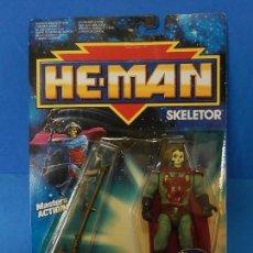 Figuras Masters del Universo: MASTER DEL UNIVERSO. HE-MAN. SKELETOR. MATTEL. 1988.. Lote 110640343