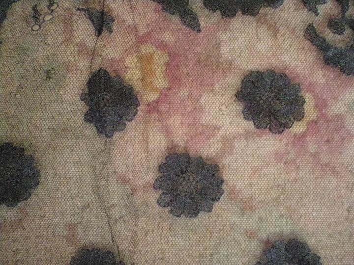 Antigüedades: Velo o Mantilla antigua de encaje de misa de en triángulo de 1,18 por 55 - Foto 11 - 110303271