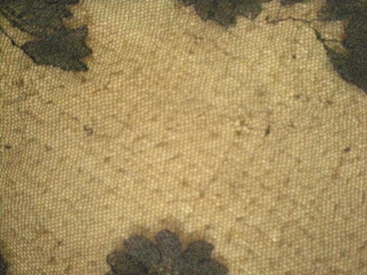 Antigüedades: Velo o Mantilla antigua de encaje de misa de en triángulo de 1,18 por 55 - Foto 12 - 110303271
