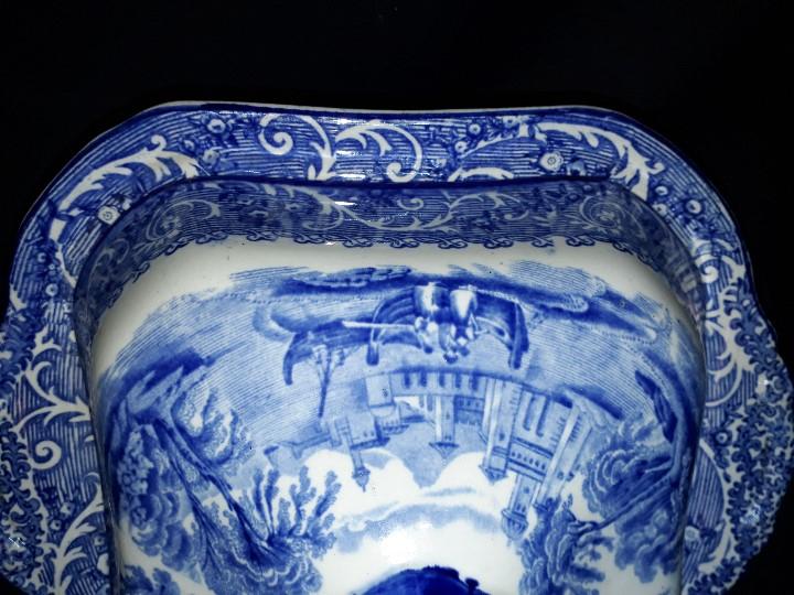 Antigüedades: LEGUMBRERA, SOPERA. LOZA. RIDGWAYS. VENICE. INGLATERRA. PRINCIPIOS DEL SIGLO XX. - Foto 8 - 110652275