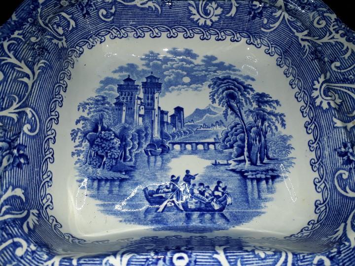 Antigüedades: LEGUMBRERA, SOPERA. LOZA. RIDGWAYS. VENICE. INGLATERRA. PRINCIPIOS DEL SIGLO XX. - Foto 11 - 110652275