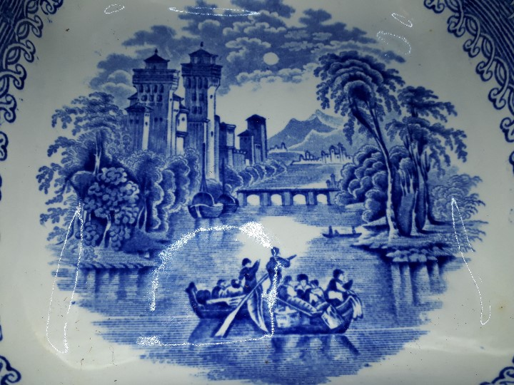Antigüedades: LEGUMBRERA, SOPERA. LOZA. RIDGWAYS. VENICE. INGLATERRA. PRINCIPIOS DEL SIGLO XX. - Foto 12 - 110652275