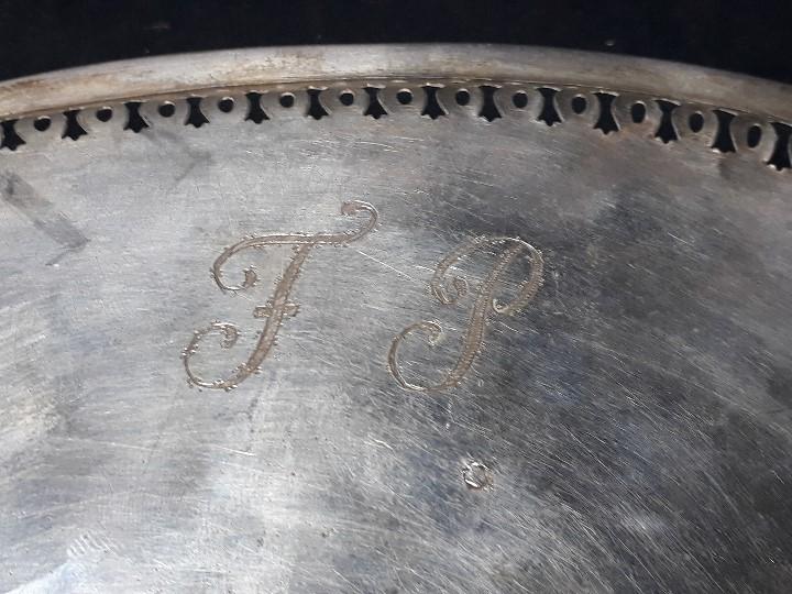 Antigüedades: MANCERINA DE PLATA. REAL FÁBRICA DE PLATERÍA MARTÍNEZ. VILLA Y CORTE. MADRID. AÑO 1793. - Foto 14 - 110657607