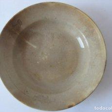 Antigüedades: ANTIGUO PLATO CERAMICA SAN CLAUDIO. Lote 110665131