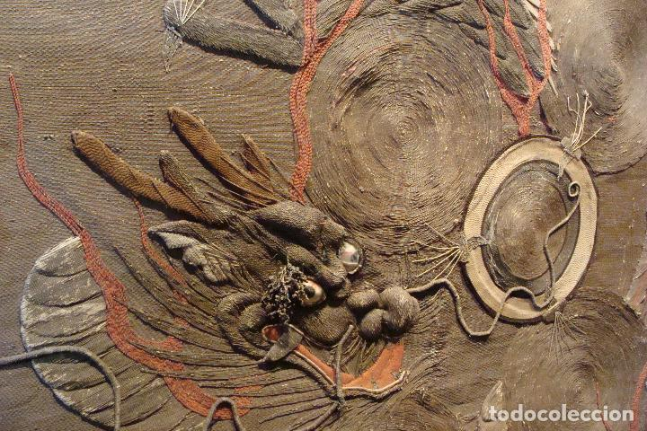 Antigüedades: Tapiz chino - Siglo XIX - Foto 2 - 110675739