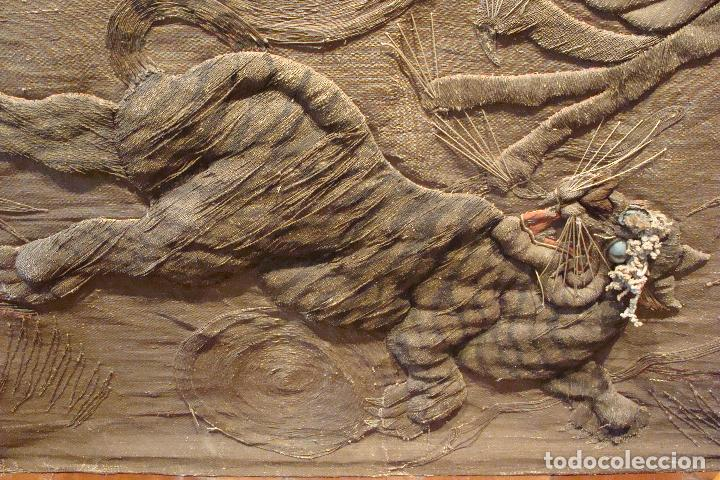 Antigüedades: Tapiz chino - Siglo XIX - Foto 4 - 110675739
