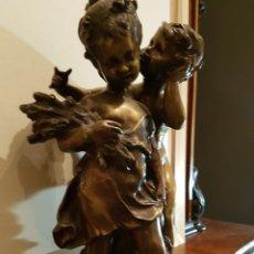 Antiquitäten - Figuras de niños en bronce - 110706139