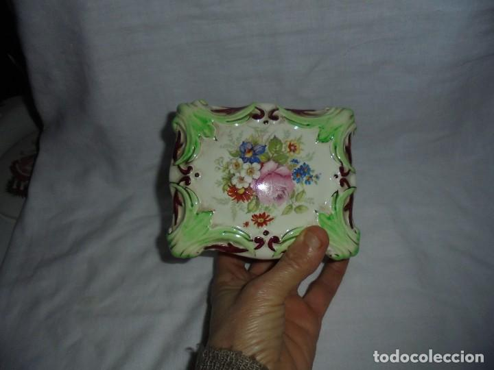Antigüedades: BONITA CAJA DE PORCELANA MARCA WEDGWOOD & CO ENGLAND - Foto 5 - 110743783