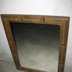 Antigüedades: ESPEJO ANTIGUO TIPO CASTELLANO.. Lote 110745023