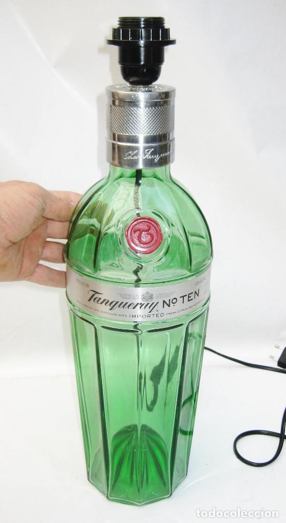 tanqueray botella 3litros super gin Lampara ten Vendido en PXZiku