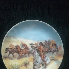 Antigüedades: PLATO PEQUEÑO PORCELANA GUILLEN. Lote 110753984