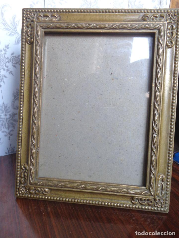 antiguo marco de madera y metal - - para rest - Comprar Marcos ...