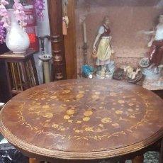 Antigüedades: MESA BRASERO.. Lote 110761659