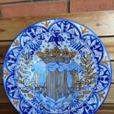 Antigüedades: PLATO DE CERÁMICA GRANDE. Lote 110774151