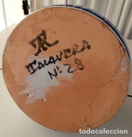 Antigüedades: PORRÓN DE CERÁMICA DE TALAVERA - Foto 5 - 110798963