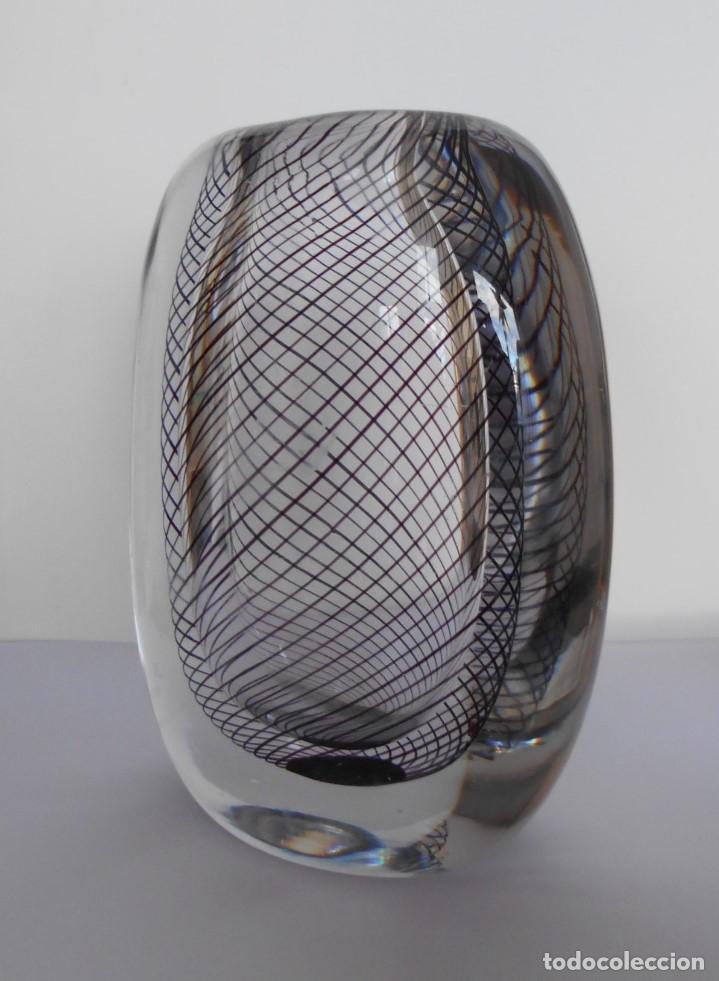 Antigüedades: Cristal Modernista Kosta Vicke Lindstand ca 1960-70. - Foto 13 - 110812399