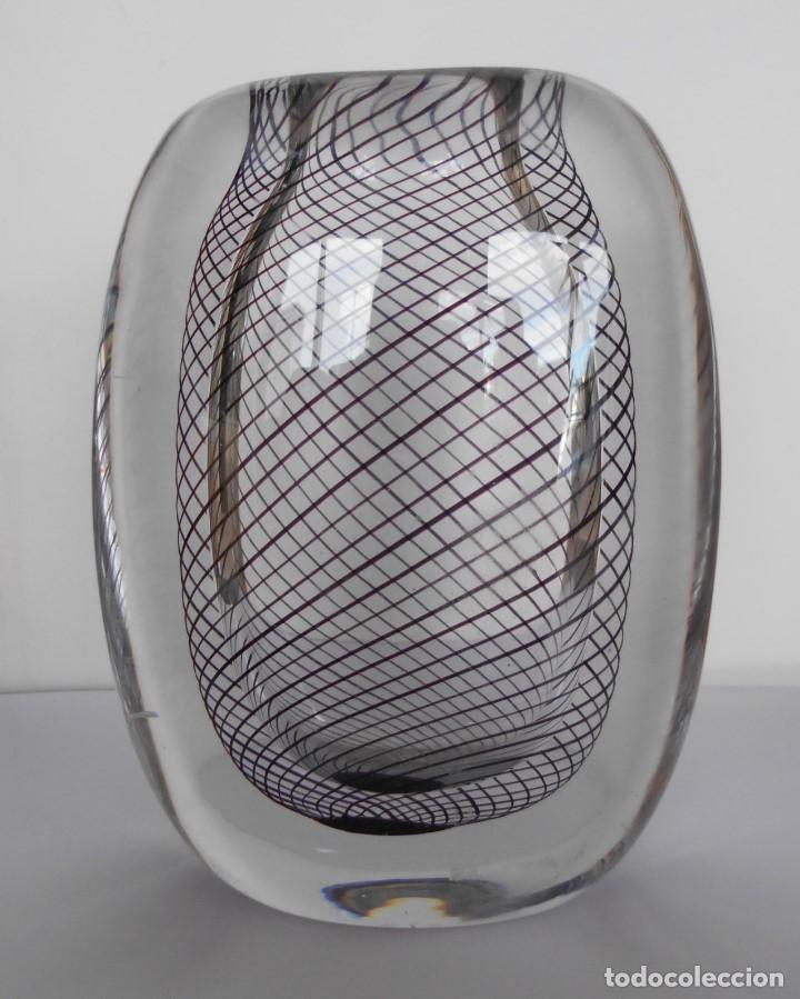 Antigüedades: Cristal Modernista Kosta Vicke Lindstand ca 1960-70. - Foto 14 - 110812399