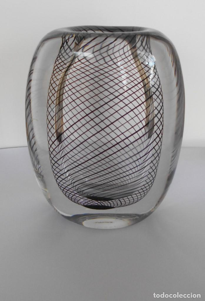 Antigüedades: Cristal Modernista Kosta Vicke Lindstand ca 1960-70. - Foto 15 - 110812399