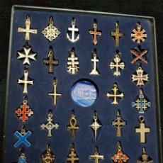 Antigüedades - Coleccion cruces universales completa - 110837459