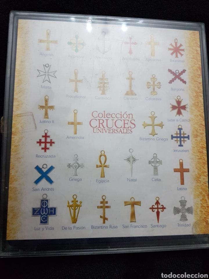 Antigüedades: Coleccion cruces universales completa - Foto 2 - 110837459