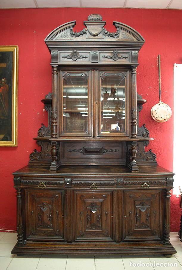 Adesivo Decorativo Infantil De Parede ~ antiguo mueble trinchero aparador madera tallad Comprar Aparadores Antiguos en todocoleccion