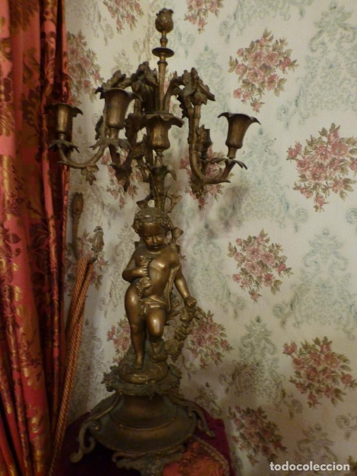 Antigüedades: Candelabros - Foto 2 - 110918055
