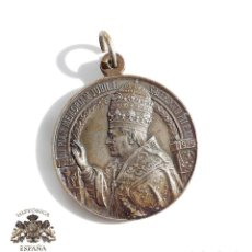 Antigüedades: MEDALLA RELIGIOSA - IN PIAM MEMORIAM JUBIL. L SACERDOTII PII P. XI 1879 1929. PAX ROMA 11 FEBR.1929. Lote 110918443