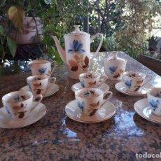 Antigüedades: ANTIGUO JUEGO DE CAFE PORZELANIT. Lote 110927451