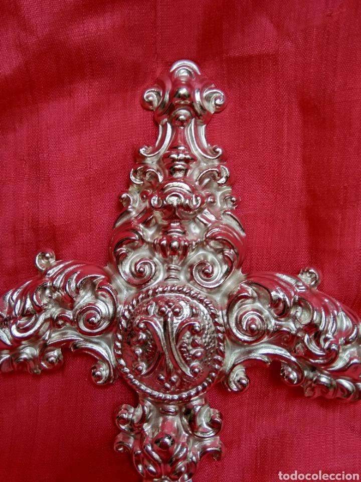Antigüedades: Puñal plateado para virgen, 17 cm ( nuevo ) - Foto 2 - 257588655